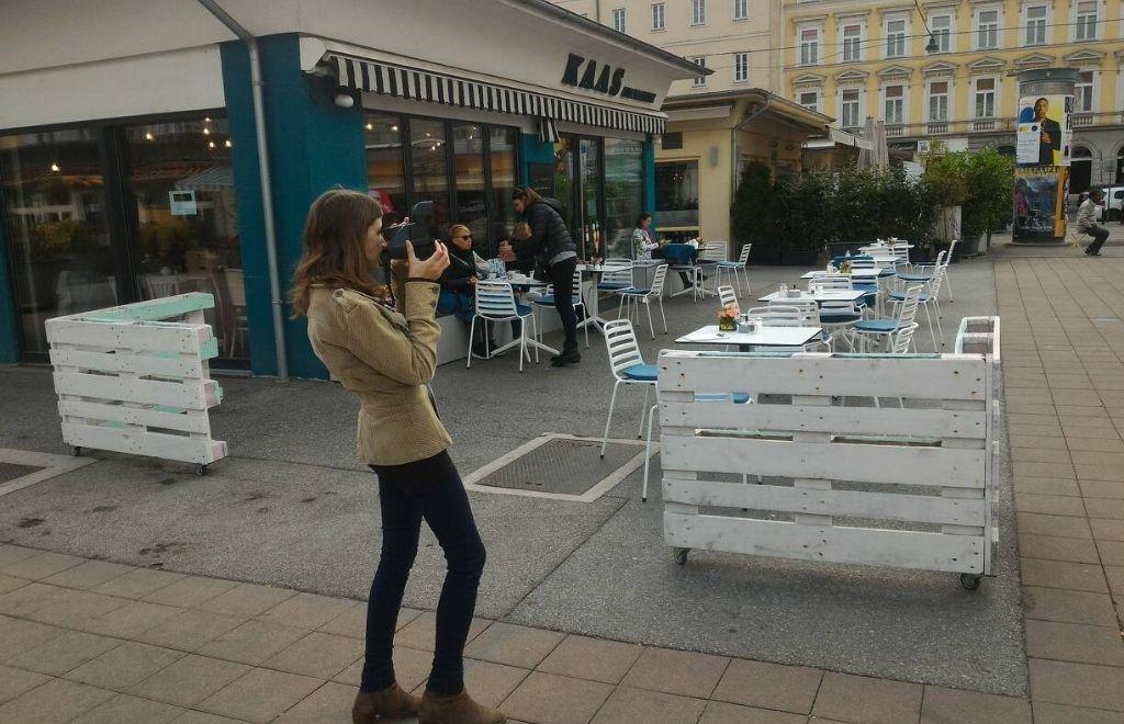 צילום במצלמת פולארויד ברחבי וינה